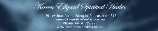 Karen Ellyard. Spiritual Healer